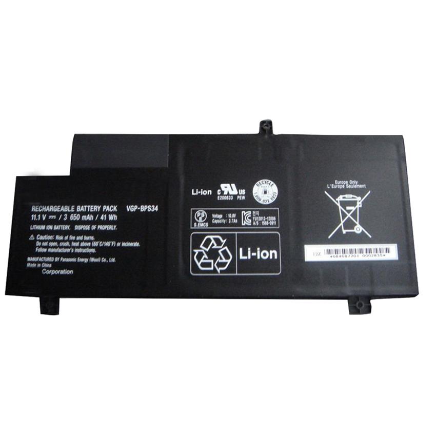Pin thay thế dành cho laptop Sony BPS34  SVF15A1ACXB, SVF15A1ACXS, SVF15A1BCXB, SVF14AC1QL - Loại tốt
