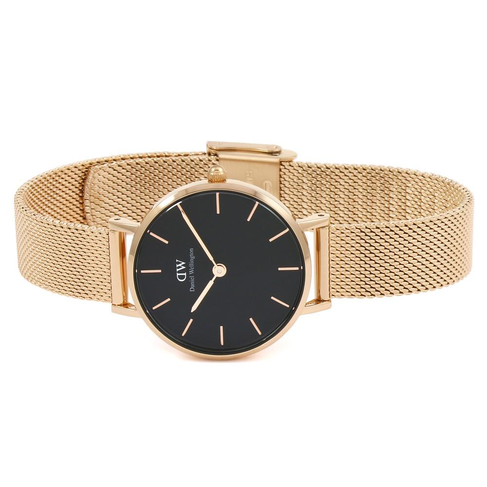 Đồng hồ nữ DANIEL WELLINGTON PETITE MELROSE BLACK 28MM DW00100217