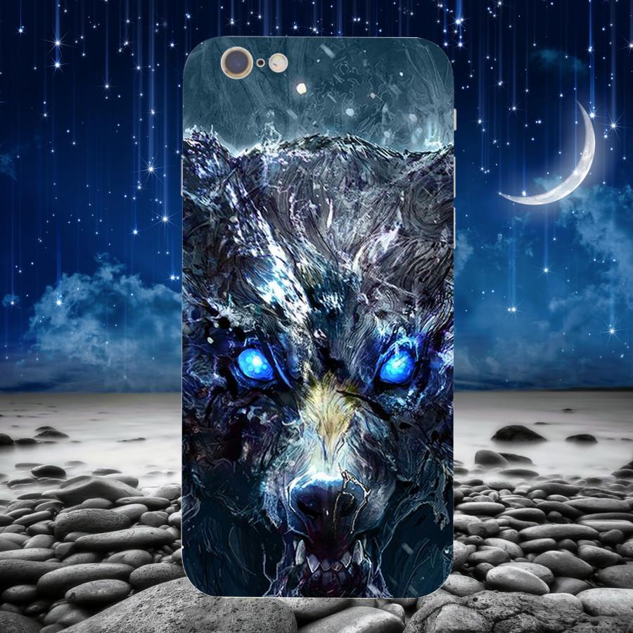 Ốp Lưng Con Sói,Dành Cho Máy iPhone 6 ,iphone 6s Ốp Cứng Viền TPU Dẻo,Ốp Cao Cấp Chính Hãng ,Mã SI0005