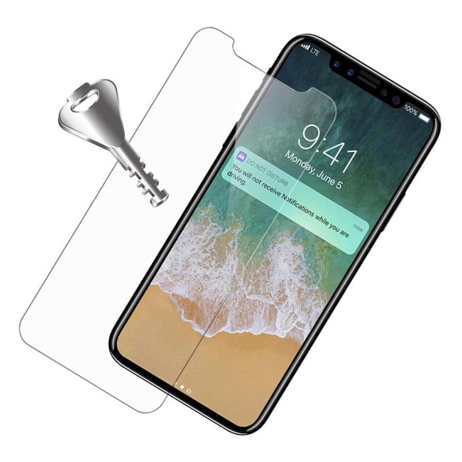Bộ Kính Cường Lực Dẻo Nano Cho iPhone X/ Xs (Trong Suốt) + Cây Lấy Sim Hình Giọt Nước