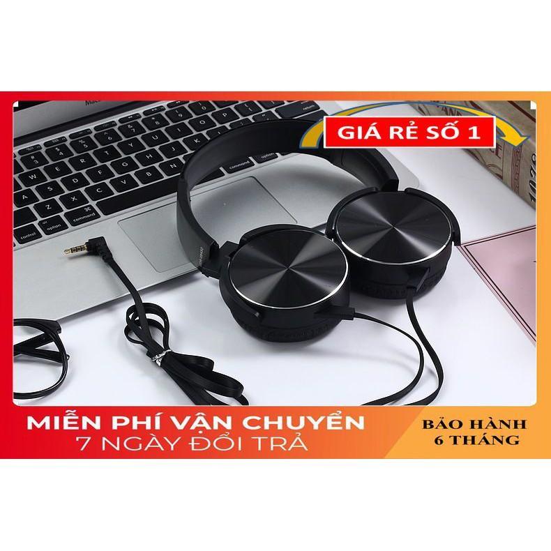 Tai Nghe Gaming ️️ Tai Nghe Có Dây Âm Thanh Sống Động - Tai Nghe Chụp Tai XB-450 Giảm Tiếng Ồn