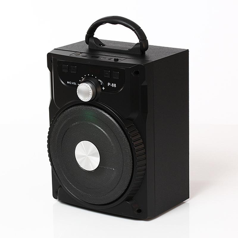 Loa karaoke Bluetooth Mini P88/P89 kèm micro có dây (Giao màu ngẫu nhiên)