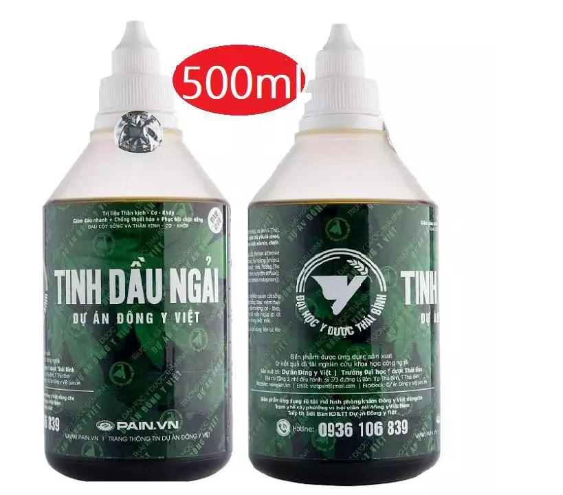 Combo 2 chai Tinh Dầu Ngải 500 ml + 1 chai 50ml