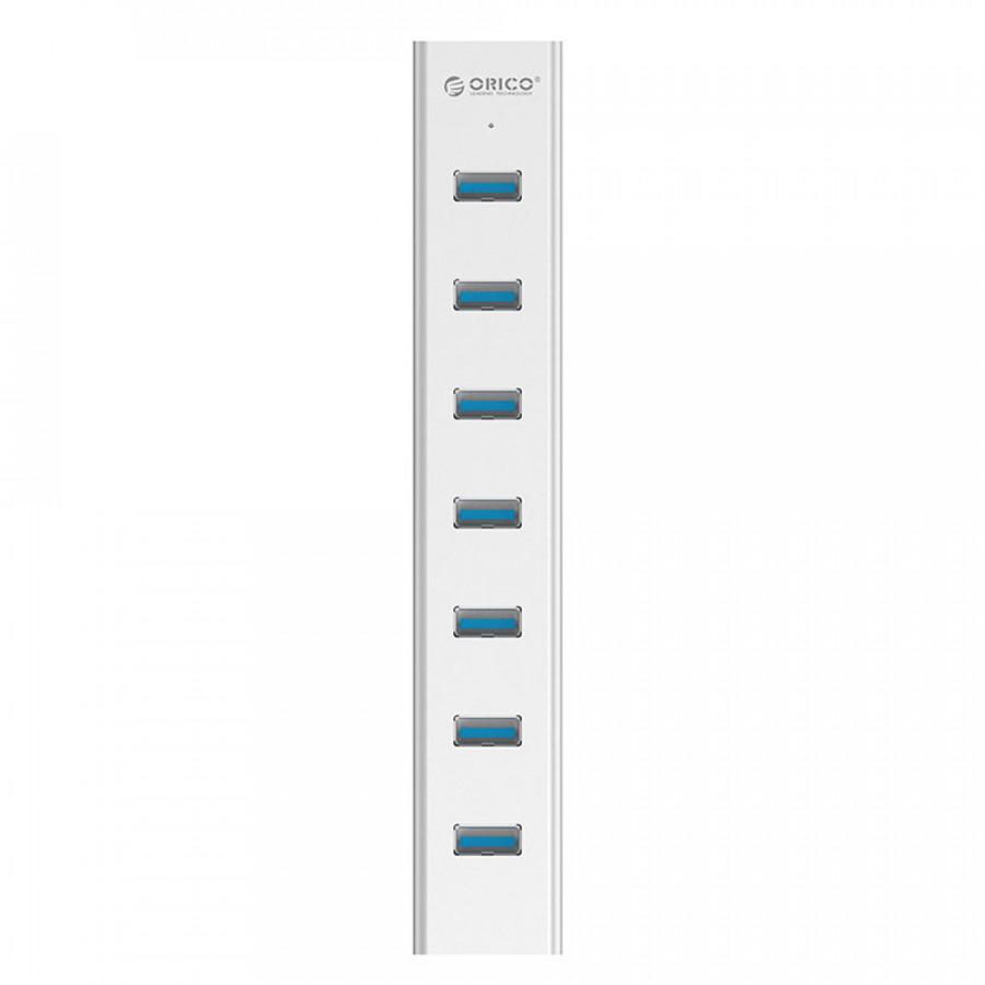 Bộ chia USB HUB 7 cổng USB 3.0 - Orico H7013-U3-AD - Hàng Chính Hãng