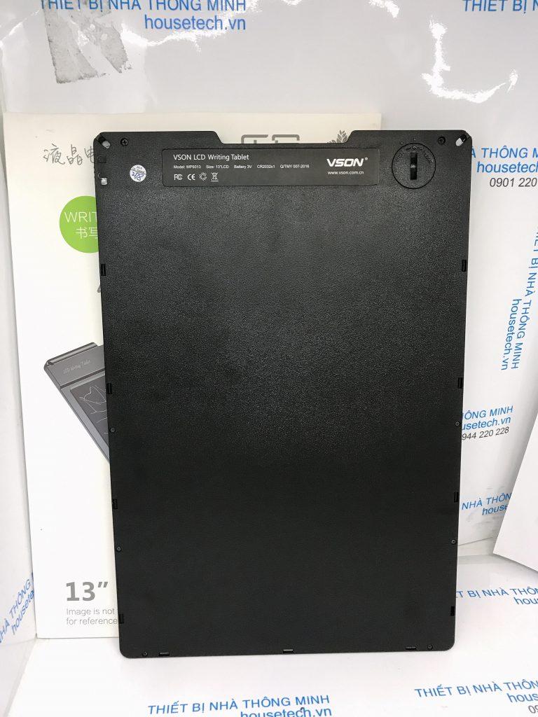 Bảng viết điện tử thông minh không cần xóa đa năng VSON cỡ lớn 13 inch