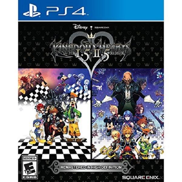 Đĩa Game Ps4: Kingdom Hearts HD 1.5 + 2.5 Remix - Hàng nhập khẩu