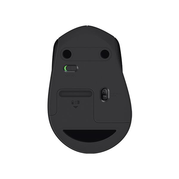 Chuột không dây LOGITECH M331 Black Cổng USB - Hàng chính hãng