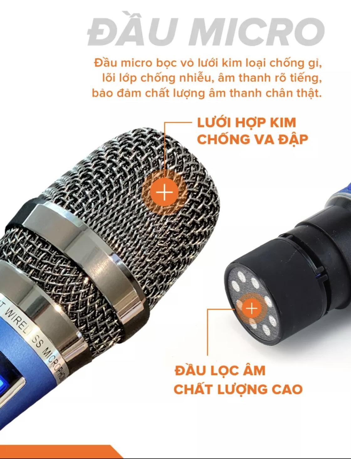 MICRO KHÔNG DÂY C.O.K ST-212 - HÀNG CHÍNH HÃNG