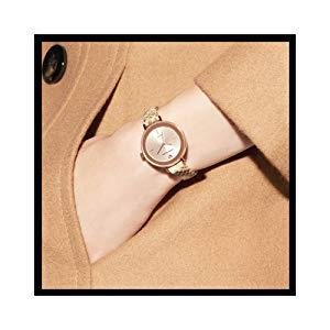 Anne Klein Women s AK 3290LPST Gold-Tone Bangle Watch and Swarovski Crystal Accented Bracelet Set 2
