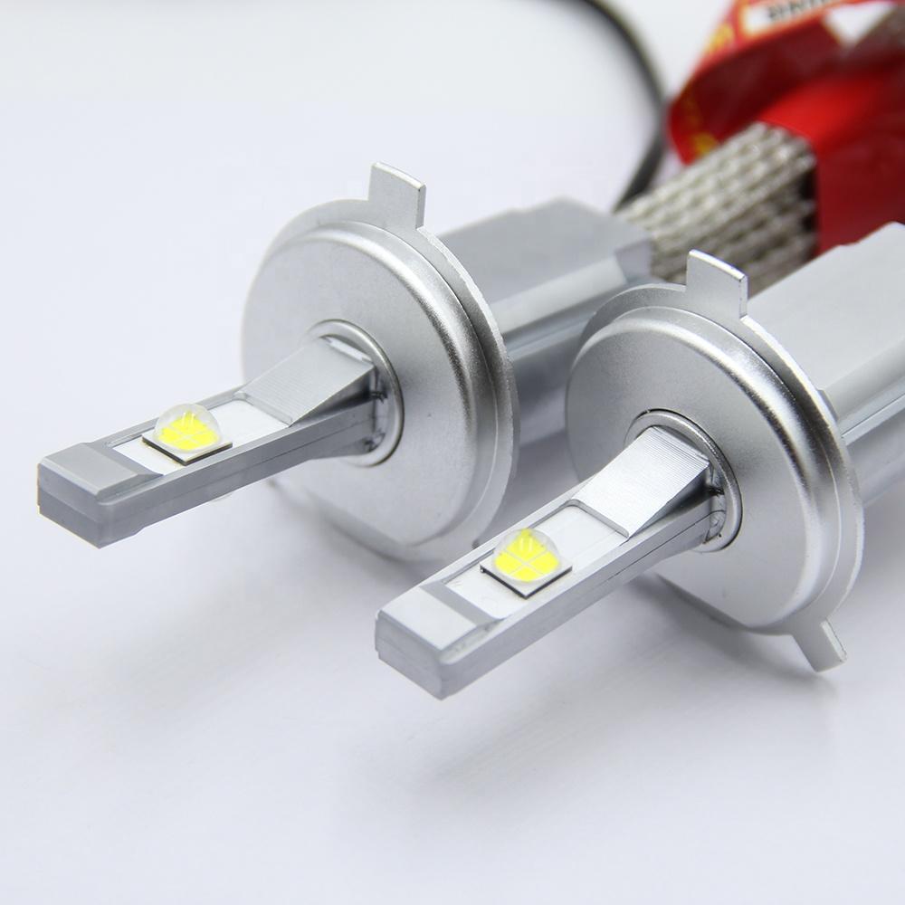 Bộ 2 bóng đèn ô tô LED XHP L9 H4 6000k - Trắng