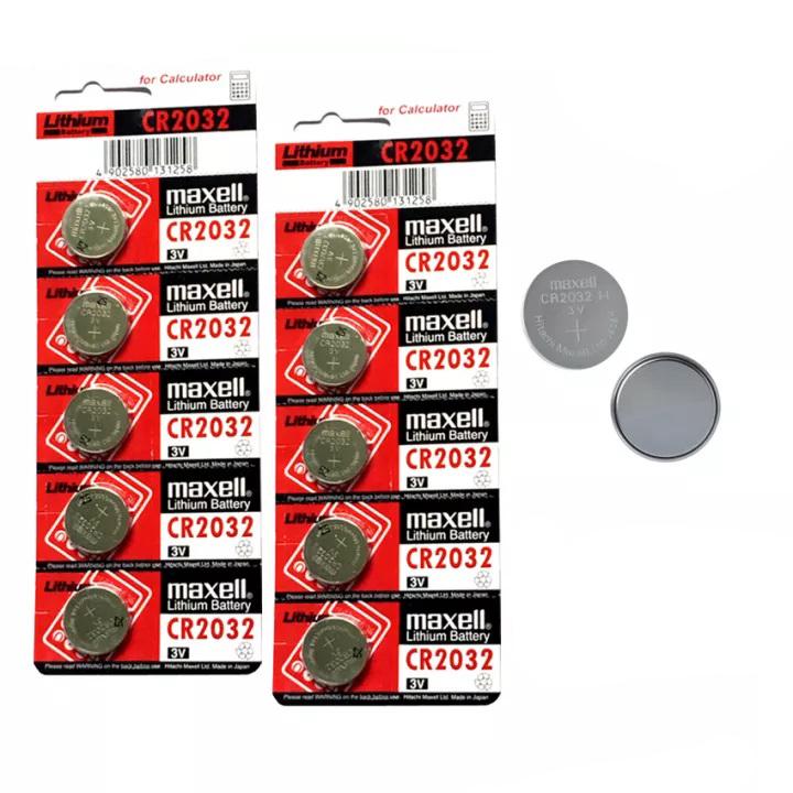 Pin Maxell Cmos CR2032 1 viên lẻ loại tốt