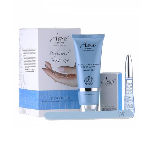 Bộ Chăm Sóc & Nuôi Dưỡng Móng Hương Sương - Professional Nail Kit Delicate Dew (Aqua Mineral)
