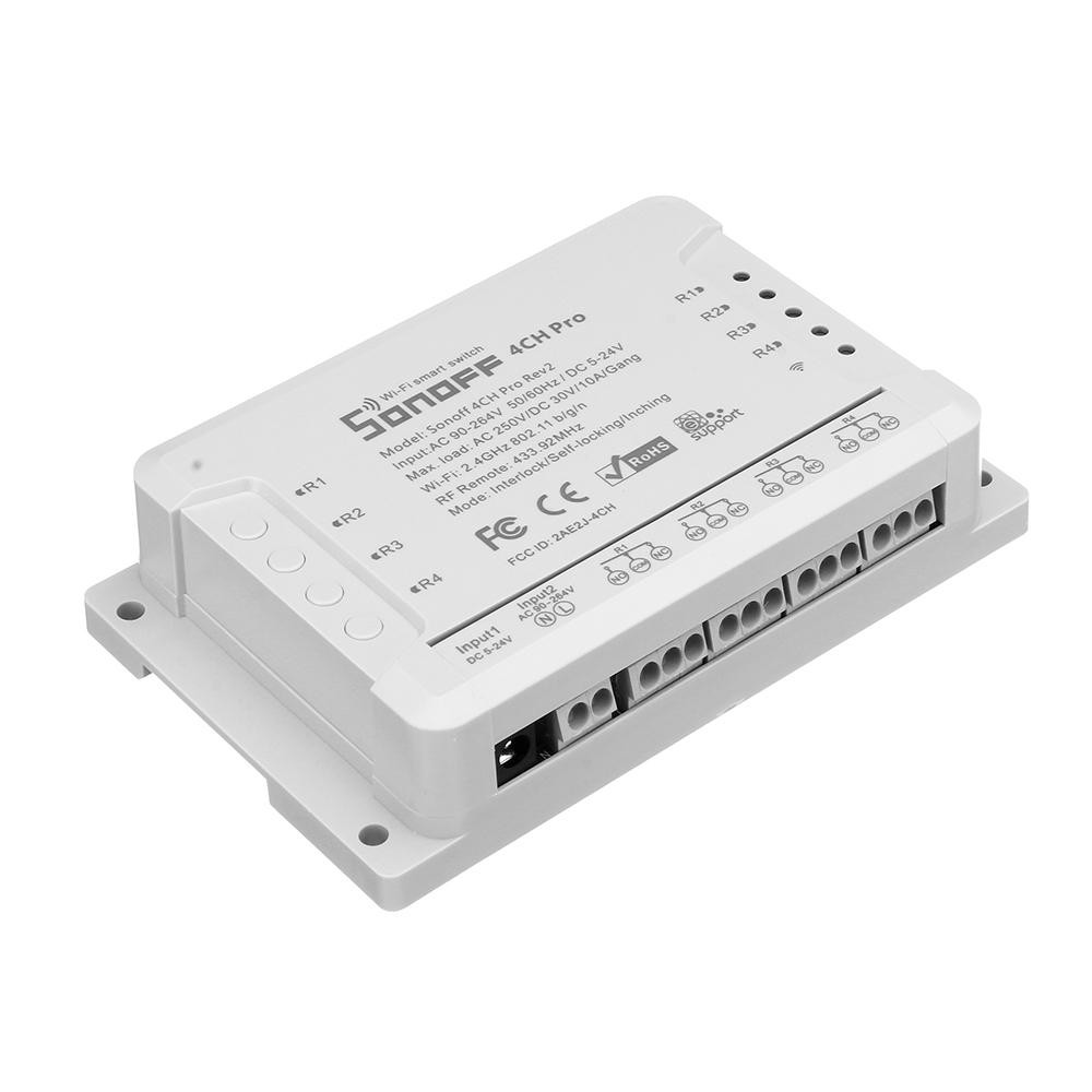 Công Tắc Điều Khiển 4 Cổng Sonoff 4CH Pro (R2)