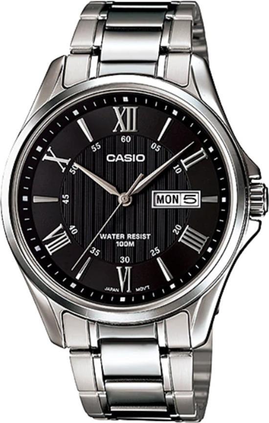 Đồng hồ nam dây kim loại Casio MTP-1384D-1AVDF