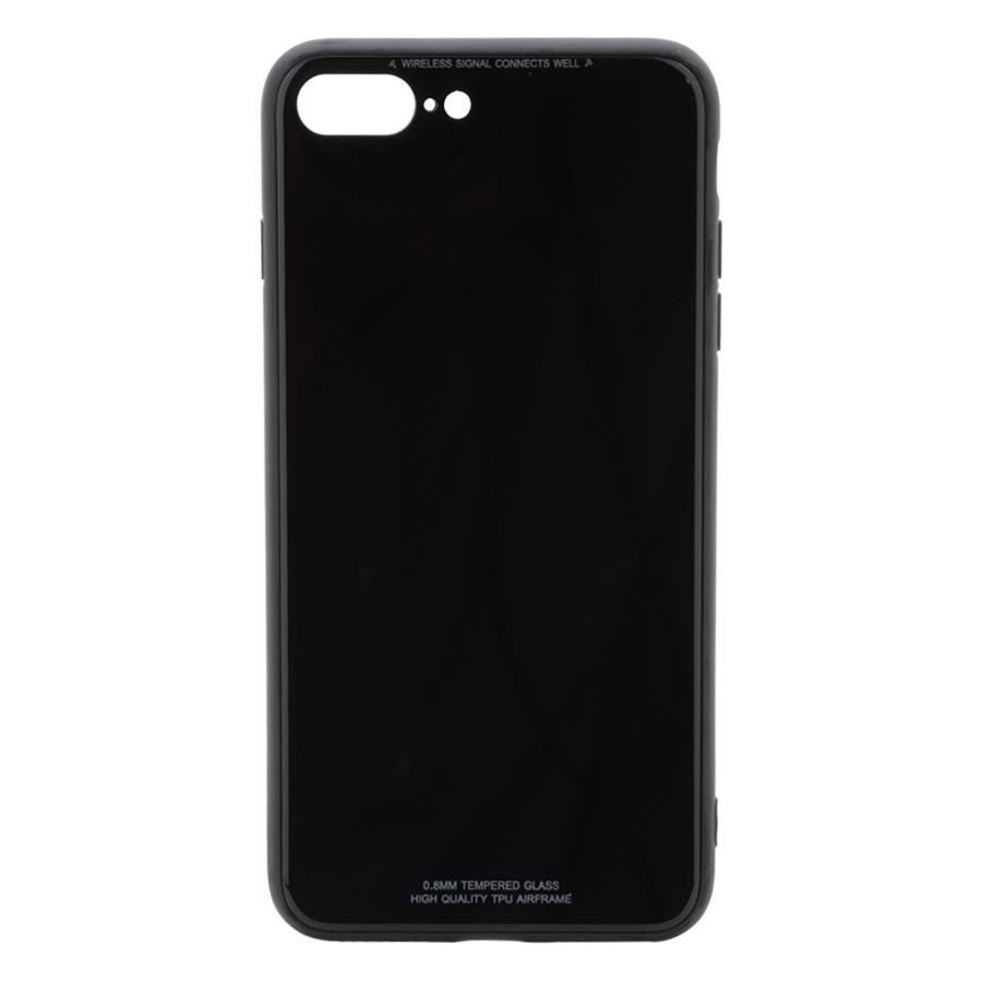 Ốp Lưng Dành Cho iPhone 7 Plus 8 Plus Mặt Kính Cường Lực Cao Cấp Sang Trọng Đen - 24052326 , 7104349083144 , 62_4371169 , 200000 , Op-Lung-Danh-Cho-iPhone-7-Plus-8-Plus-Mat-Kinh-Cuong-Luc-Cao-Cap-Sang-Trong-Den-62_4371169 , tiki.vn , Ốp Lưng Dành Cho iPhone 7 Plus 8 Plus Mặt Kính Cường Lực Cao Cấp Sang Trọng Đen