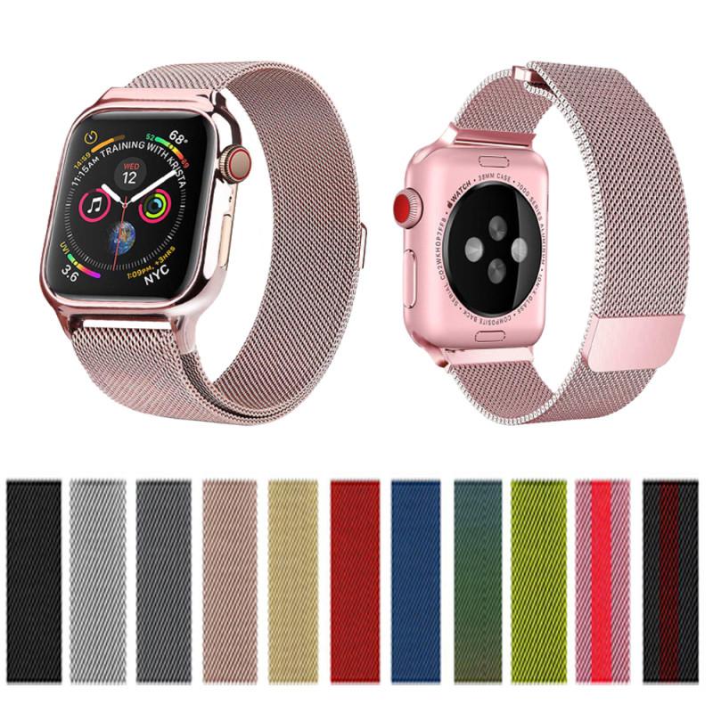 Dây Thép Milan Cho Đồng Hồ Thông Minh Appel Watch, T500, T500 Plus, T600S, W26, Hw16, Watch 6 , ...