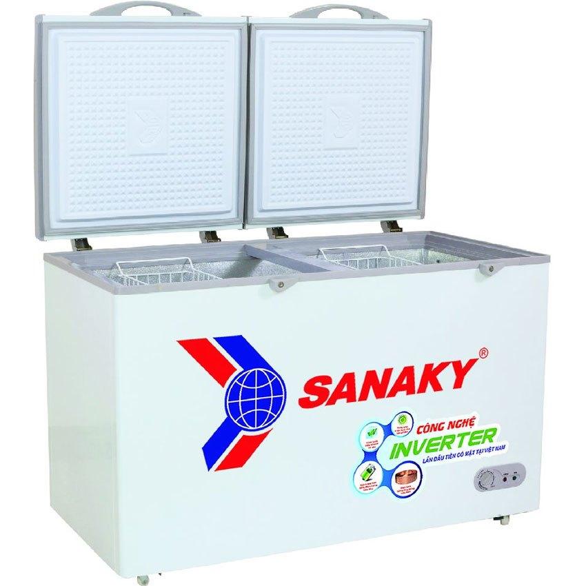 Tủ Đông Sanaky VH-2899W3 Dàn Lạnh Đồng (280L) - Hàng Chính Hãng