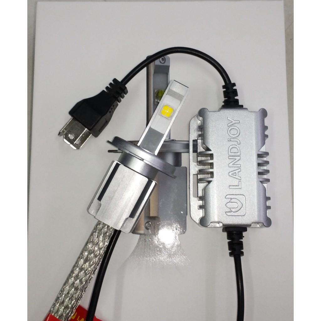 Chính Hãng Landjoy - 1 Bóng đèn pha LED CREE XHP70 L9 (2019) đèn Led siêu sáng sho ô tô và xe máy