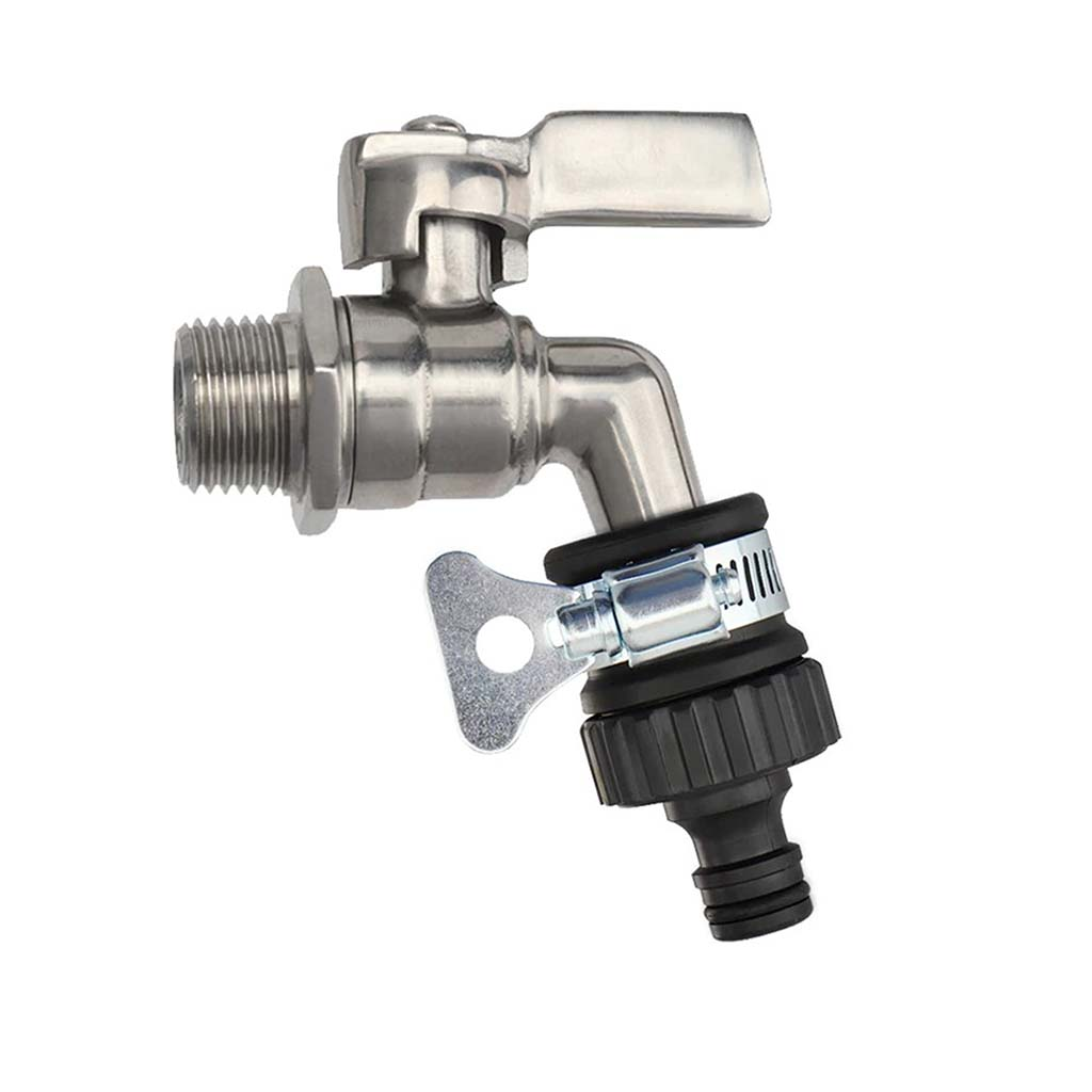 Đầu nối nhanh vòi nước có đai siết 16mm