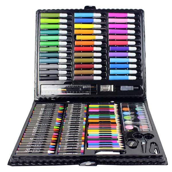 Bán sỉ hộp bút màu 150 chi tiết cho bé