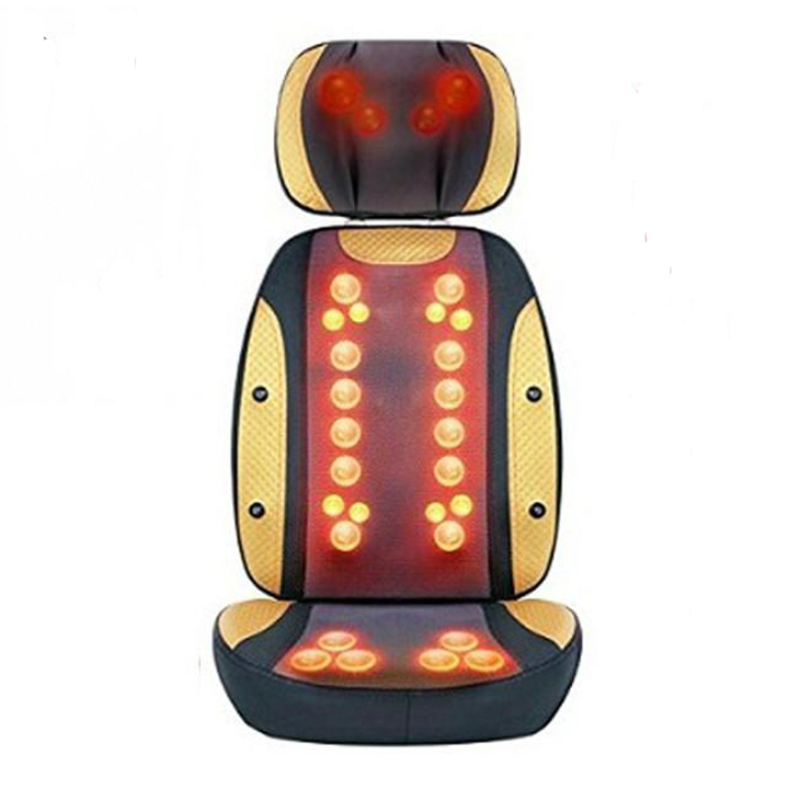 Đệm Ghế Massage Toàn Thân Hồng Ngoại 30 Bi