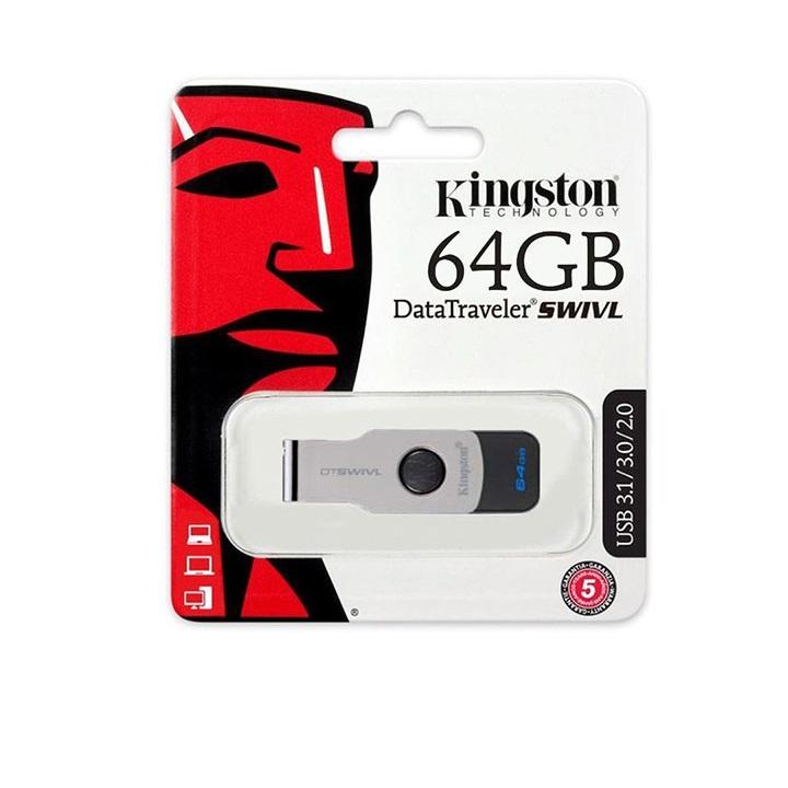 USB Kingston DT SWIVL 64Gb - Hàng chính hãng