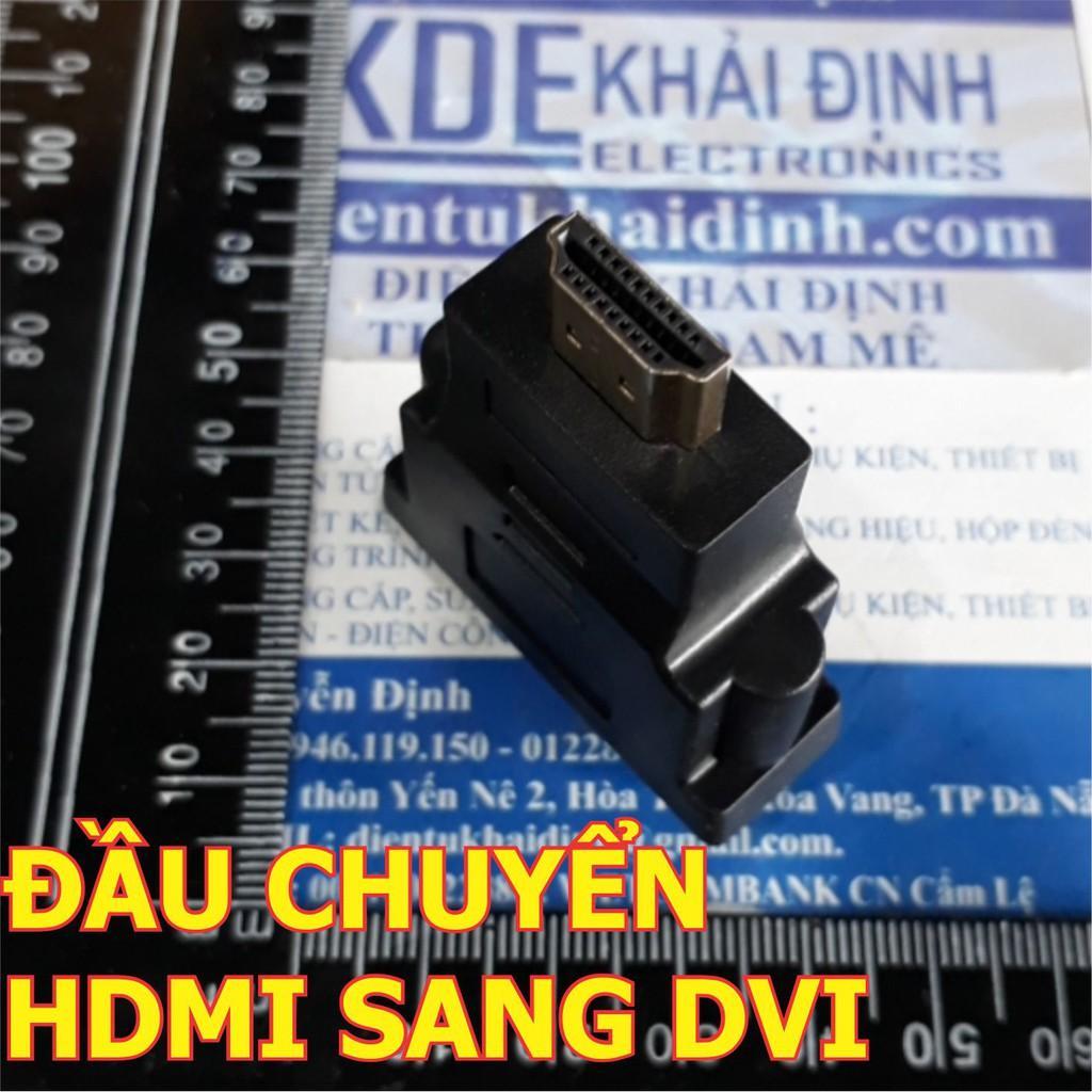 ĐẦU CHUYỂN HDMI SANG DVI hoặc ngược lại FULL HD 1080P KDE0373
