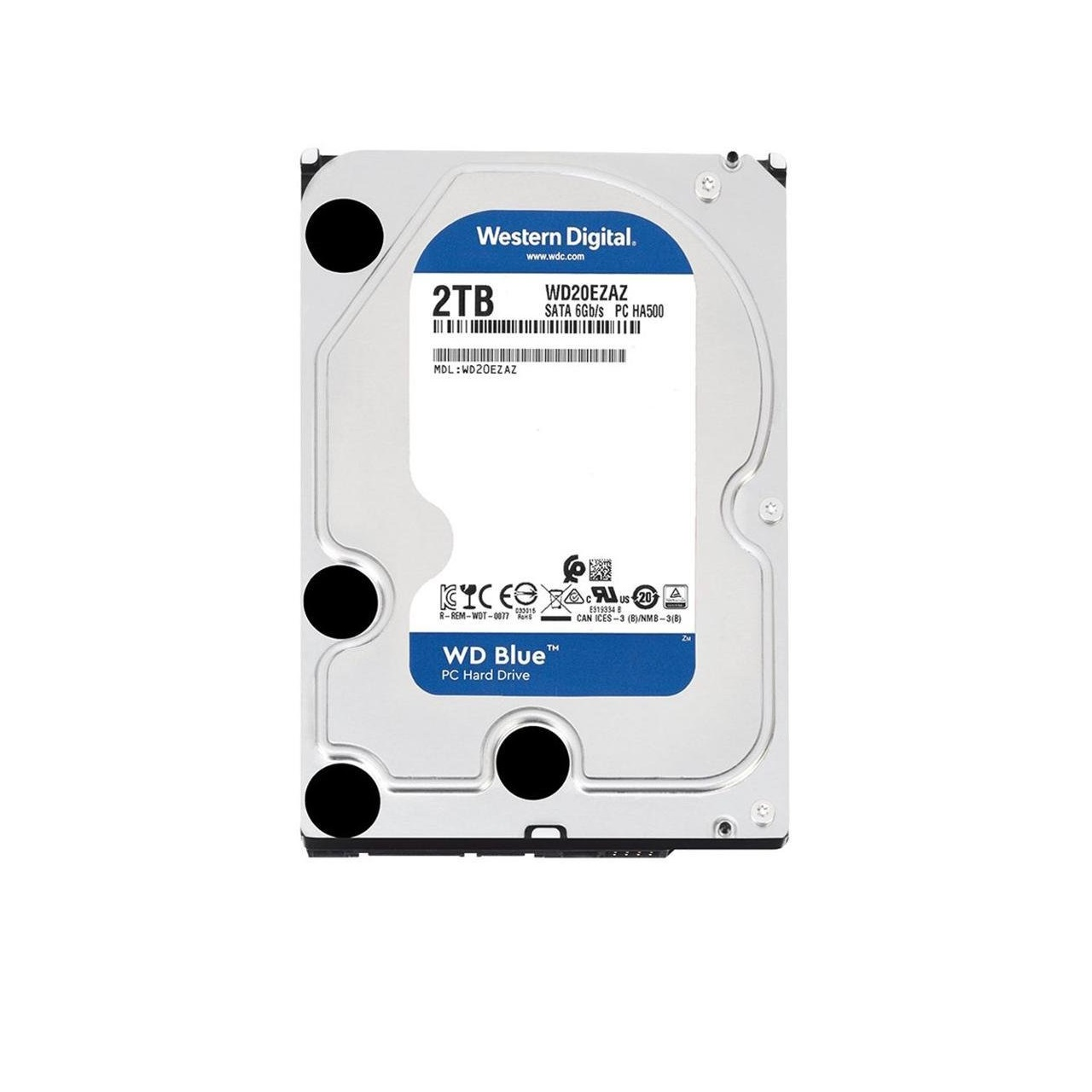 Ổ Cứng HDD WD Blue 2TB/256MB/5400/3.5 - WD20EZAZ- Hàng chính hãng
