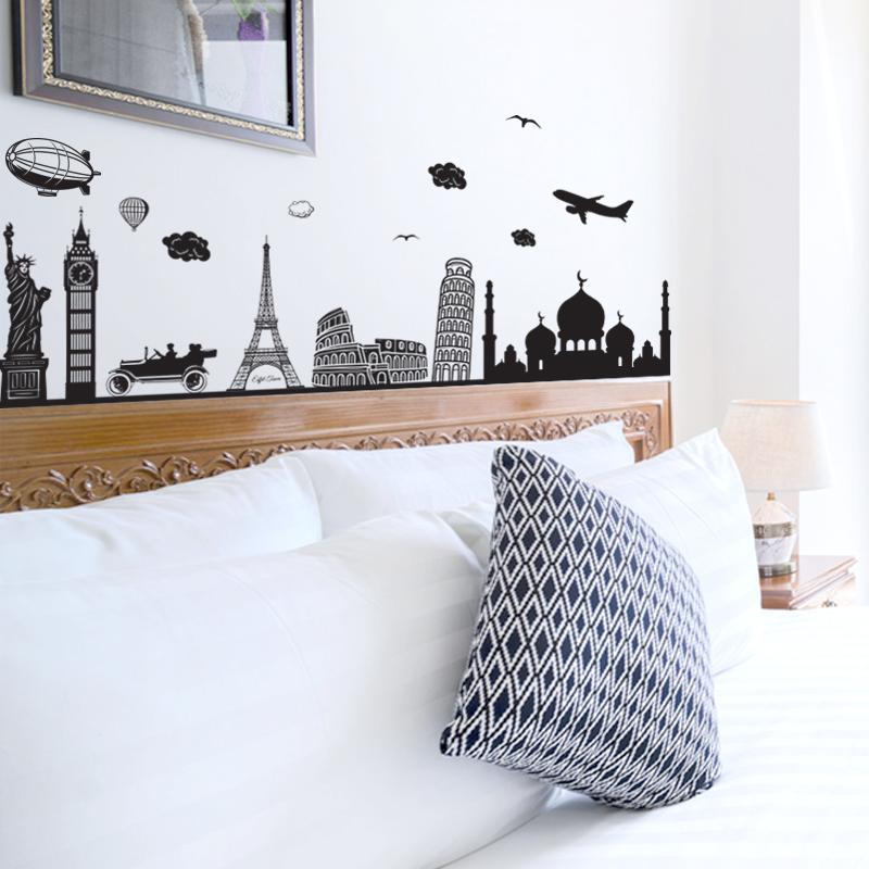 Decal Dán Tường Hình World | Decal Dán Tường Trang Trí Phòng Ngủ Cho Bé