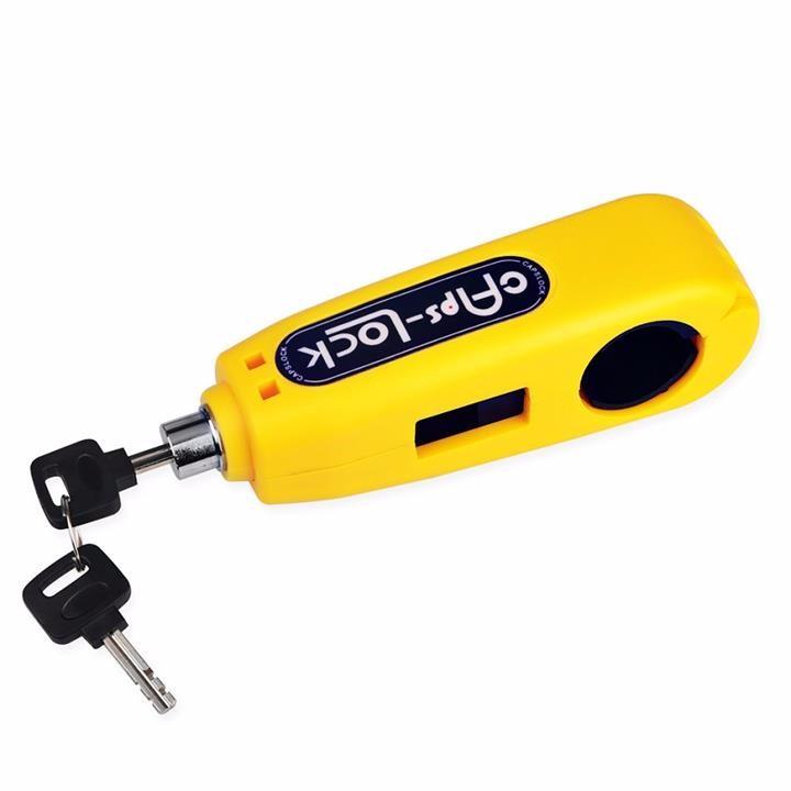 Ổ khóa chống trộm cho xe máy Caps lock/Grip lock - khóa ga kết hợp tay phanh ( màu ngẫu nhiên )