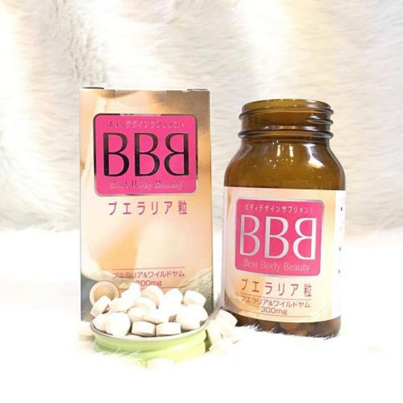 Combo sản phẩm đến từ Nhật Bản Collagen Pizkie 100% nguyên chất và Viên uống giúp tăng kích thước vòng ngực BBB Best Beauty Body Orihio