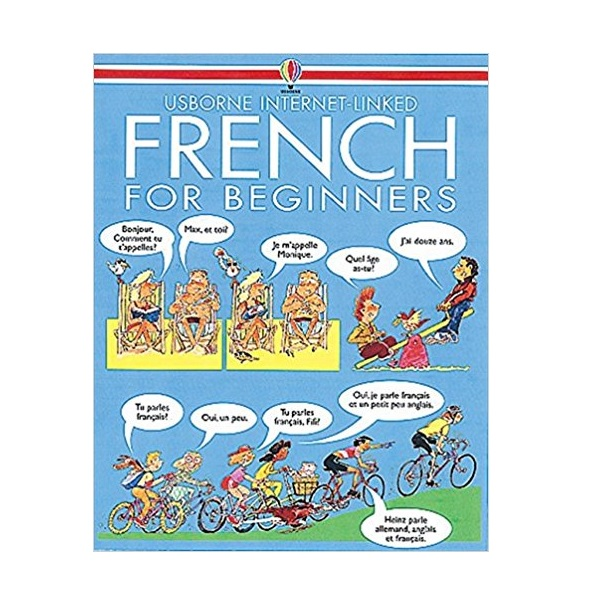 Sách tiếng Anh - Usborne French for Beginners + CD