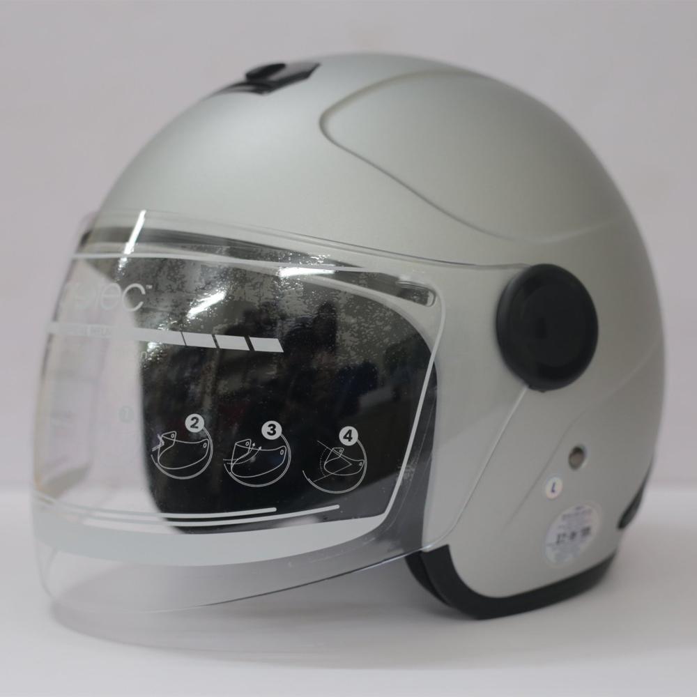 Mũ Bảo Hiểm 3/4 Có Kính Protec MO-001, Mũ Bảo Hiểm Phượt, Kiểu Dáng Hoàn Toàn Mới, Gọn Nhẹ, Hợp Thời Trang - Hàng Chính Hãng