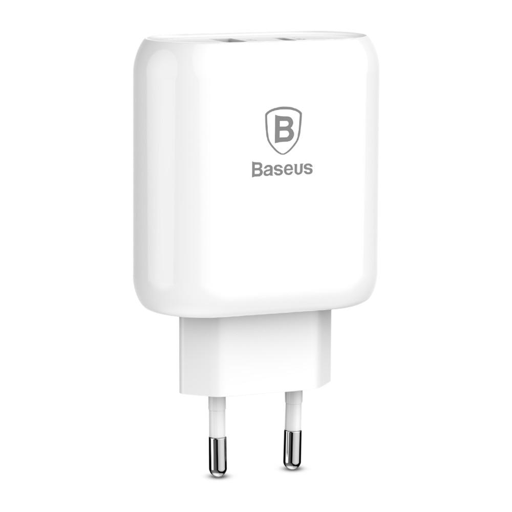 Bộ sạc nhanh cho iPhone X/XS/XS Max 32W kèm cáp Type-C to Lightning chuẩn PD+U Baseus Bojure - Hàng chính hãng