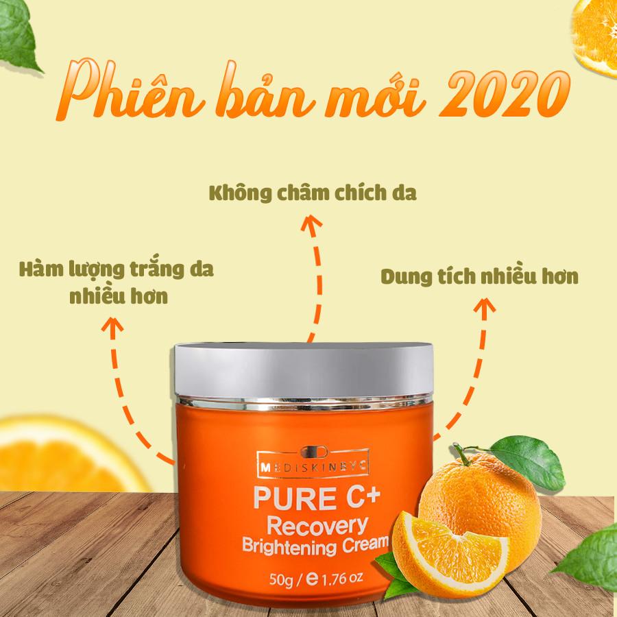 Kem Trắng Da hỗ trợ Trị Thâm PURE C+