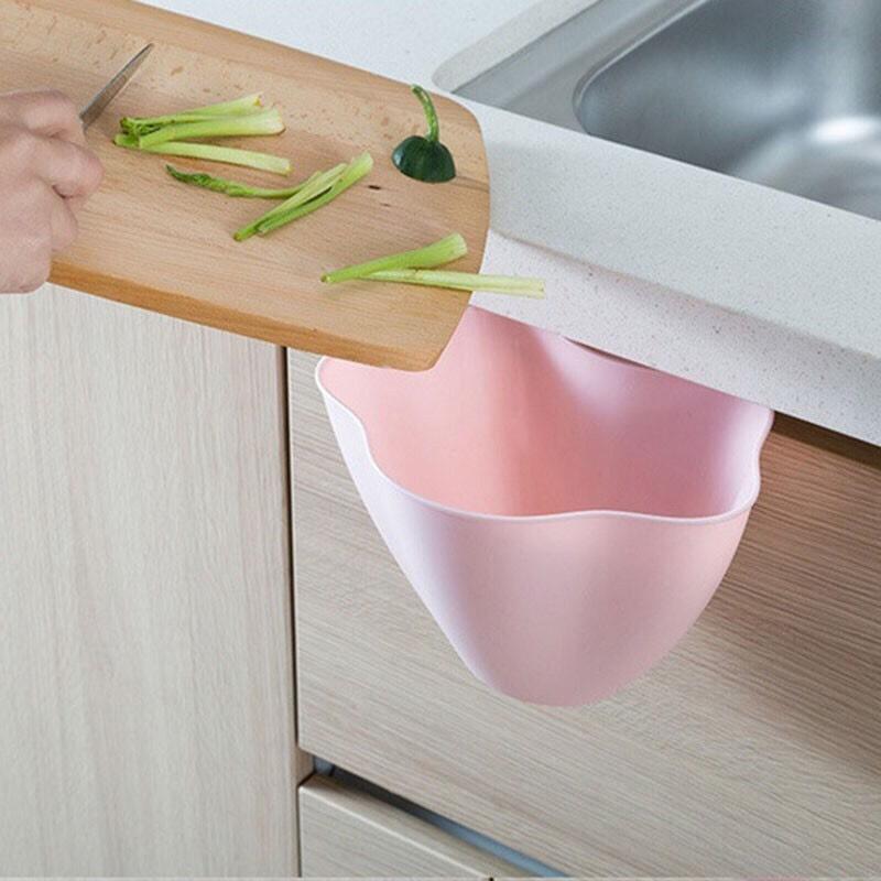 Thùng rác mini treo cửa tủ bếp tiện dụng Yasee TC190