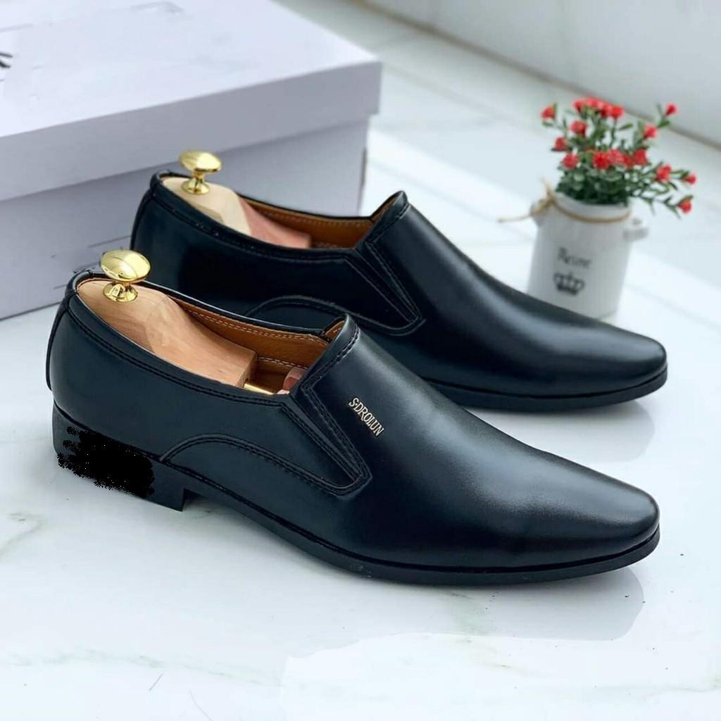 Giày tây nam không dây lịch lãm