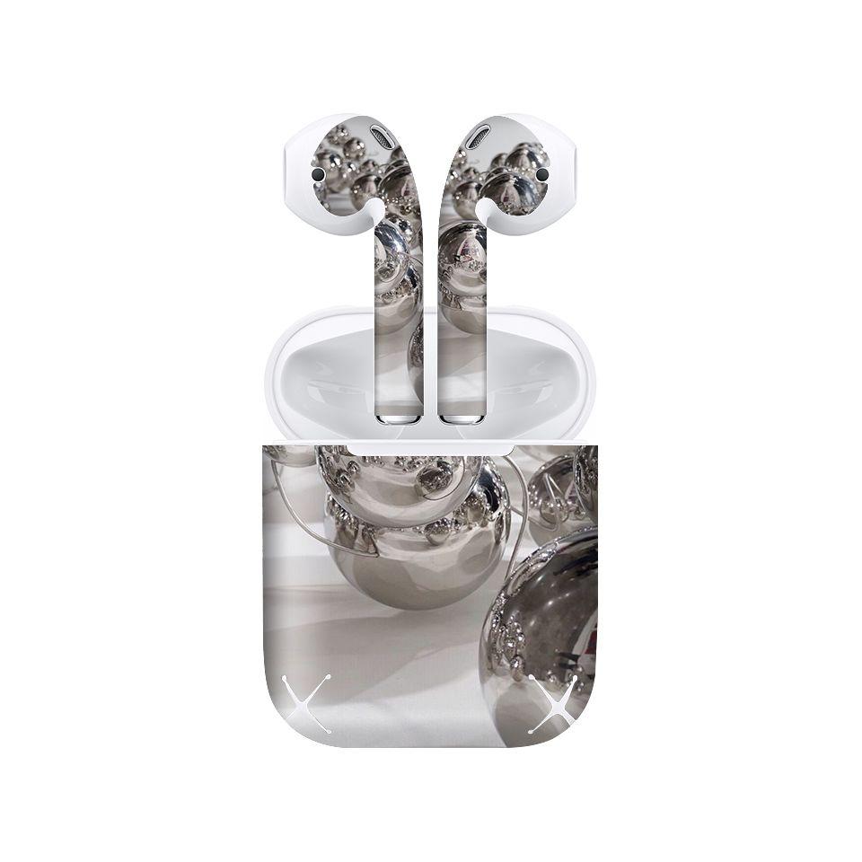 Miếng dán skin chống bẩn cho tai nghe AirPods in hình Họa tiết - HTx033 (bản không dây 1 và 2)