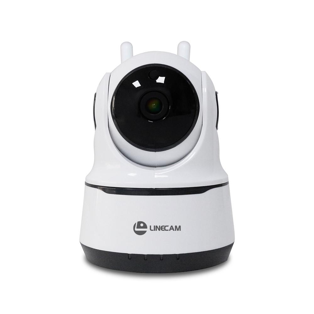 Camera Wifi LINECAM MQ66 trong nhà xoay 360 độ- Hàng chính hãng