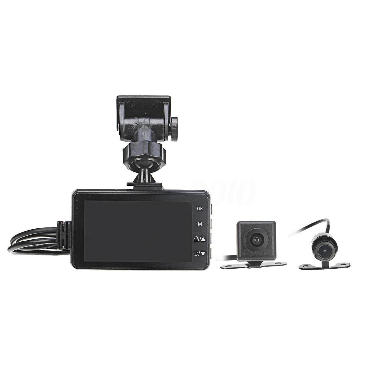 Camera Hành Trình Dành Cho Xe Máy Kèm 2 Camera Sau Chống Nước Cao Cấp MT208 AZONE