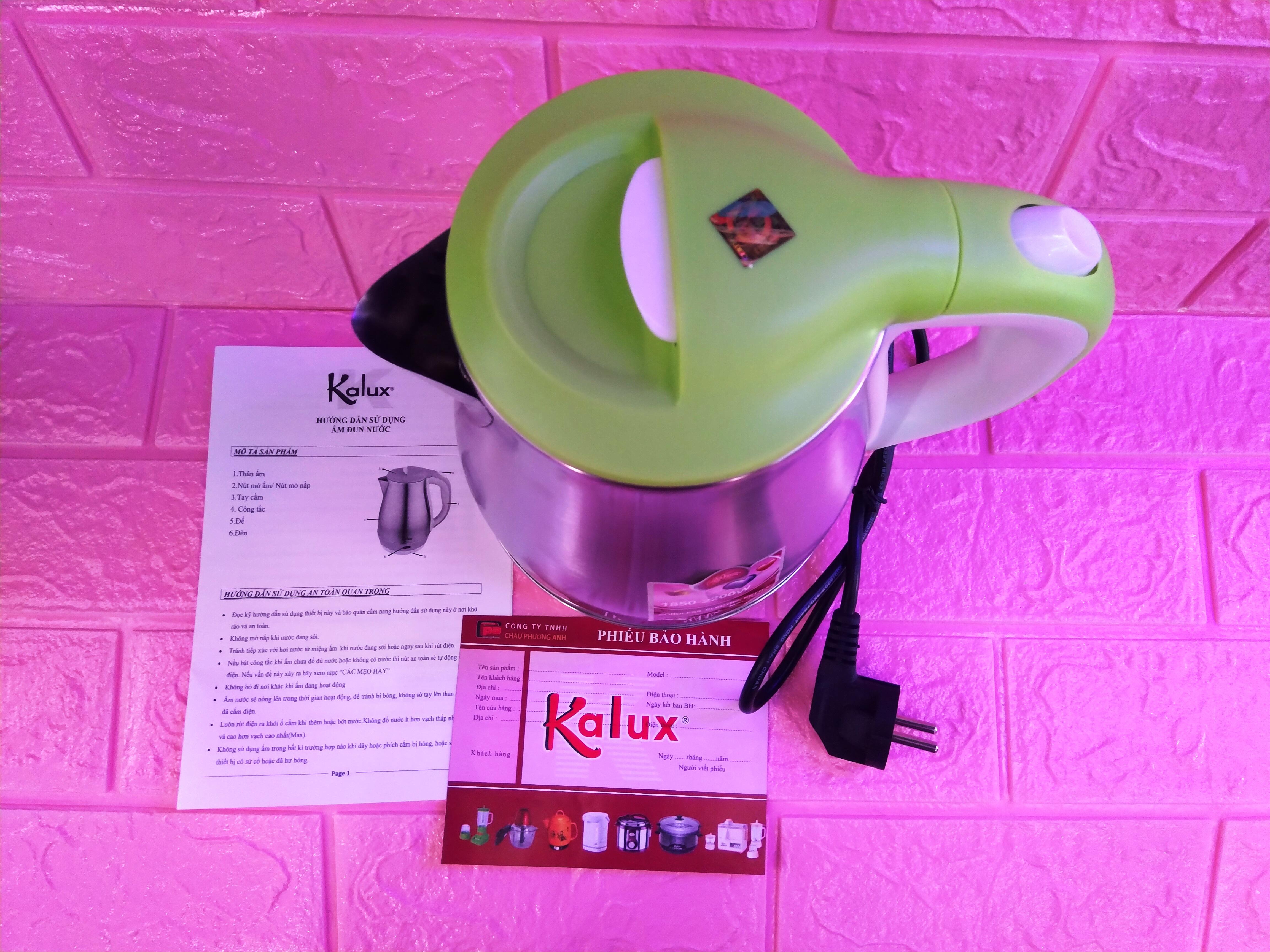 Ca nấu siêu tốc Kalux B379 - Hàng chính hãng