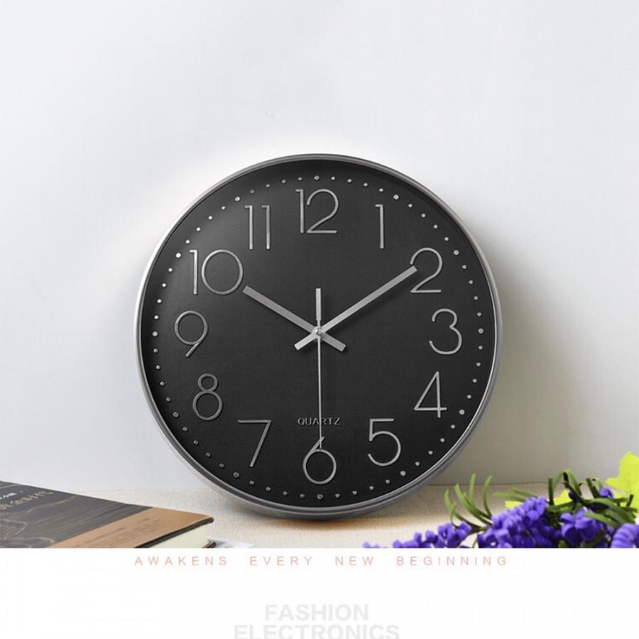 Đồng hồ treo tường kim trôi phong cách hiện đại
