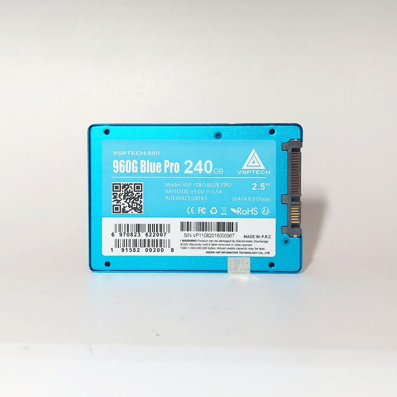 Ổ cứng SSD VSPTECH 960G Blue Pro dung lượng 240GB - tốc độ ghi 450MB/s đọc 520MB/s (HÀNG CHÍNH HÃNG)