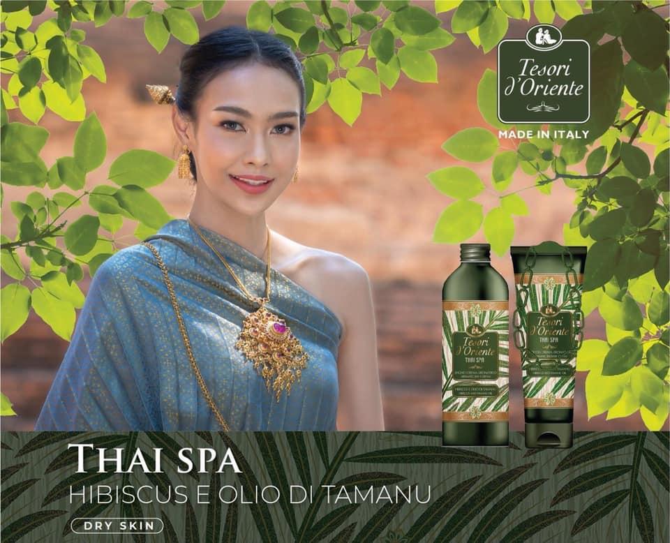 Sữa tắm nước hoa Tesori d'Oriente Hoa dâm bụt và Tinh dầu Tamanu 250ml