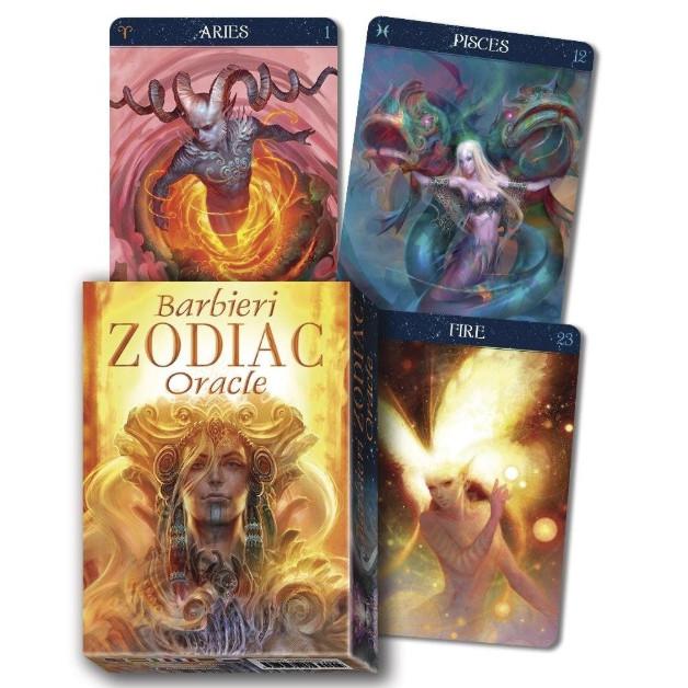 Bộ Bài Tarot Barbieri Zodiac Oracle New Đẹp