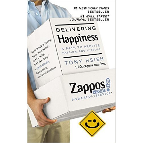 Delivering Happiness : A Path to Profits, Passion and Purpose (Mass Market Paperback)
