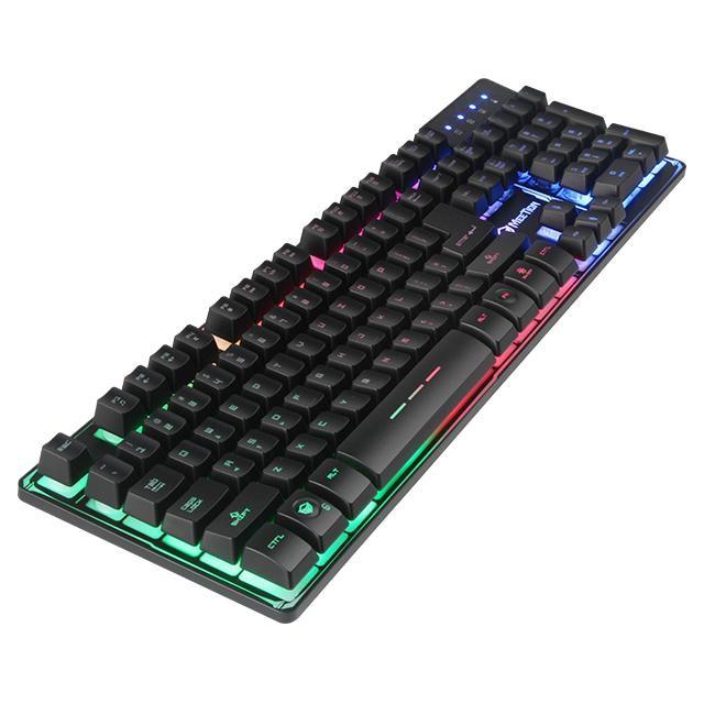 Bàn phím gaming giả cơ Meetion K9300 USB - Hàng chính hãng