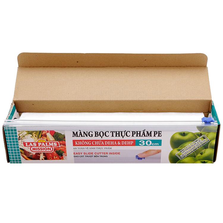 Combo 2 Màng Bọc Thực Phẩm PVC Laspalms MBTP13090092 (30cm x 120m)