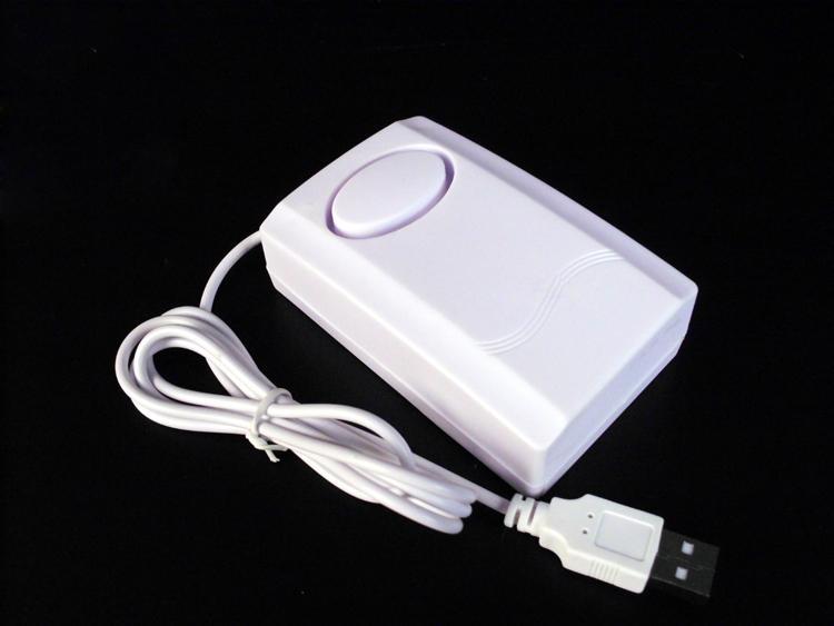 Báo động chống trộm máy tính, laptop, cắm cổng USB - Tặng kèm quạt cắm cổng USB (màu ngẫu nhiên)