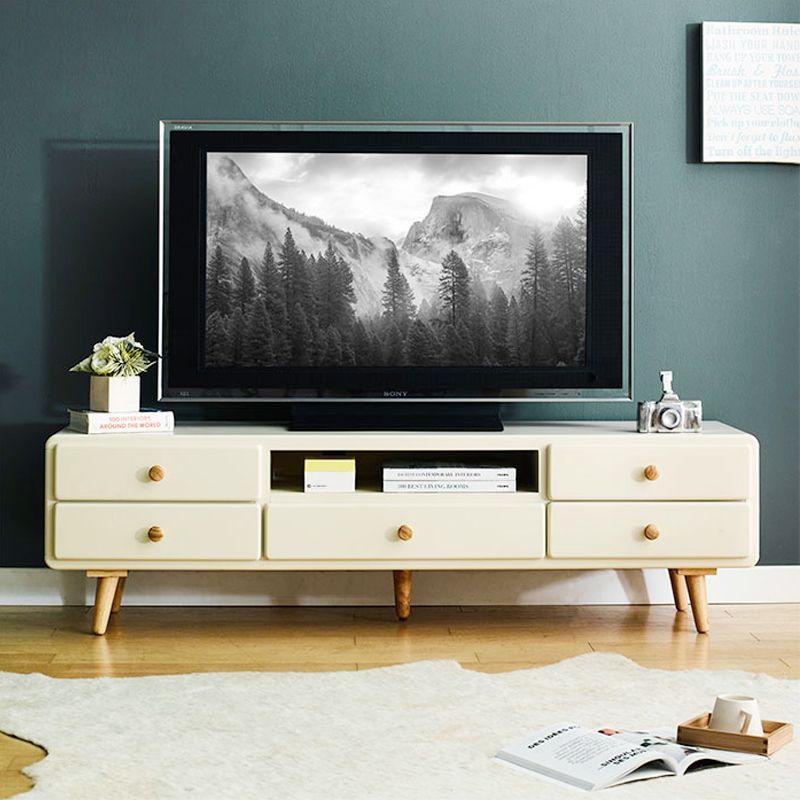 Tủ TV 5 Ngăn Kéo Rora IBIE - LV5KROI - Ivory